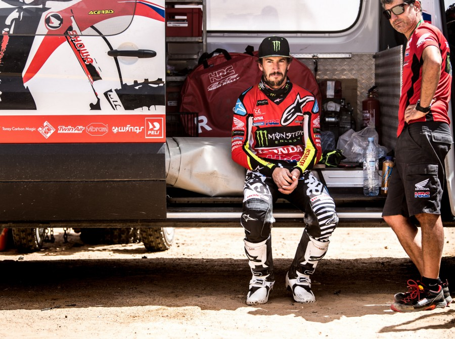 Joan Barreda at the 2018 Merzouga Rally