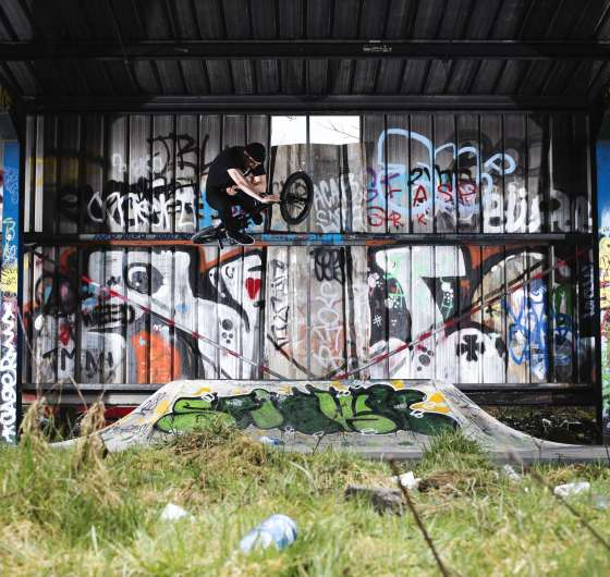 Belfast BMX project, photos from trip.