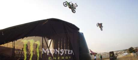 Monster Energy demos at the SA Bike Fest 2016