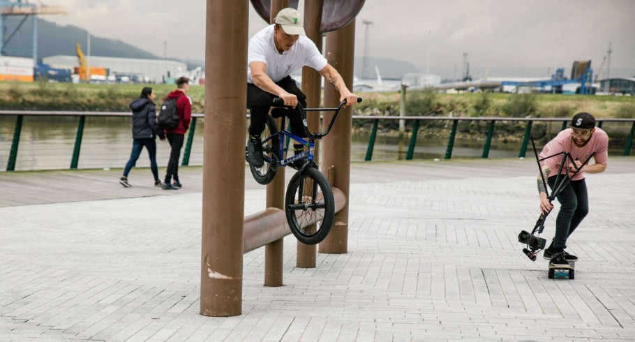Belfast BMX behind the scene shots from the trip