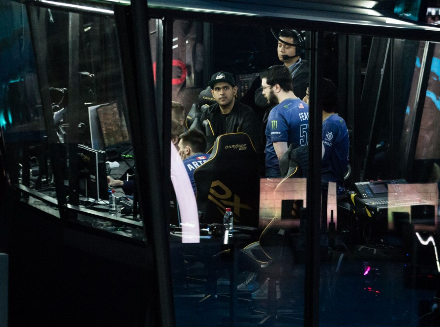 Photos of Evil Geniuses Dota 2 in Shanghai China for the Dota Asia Championships 2018
