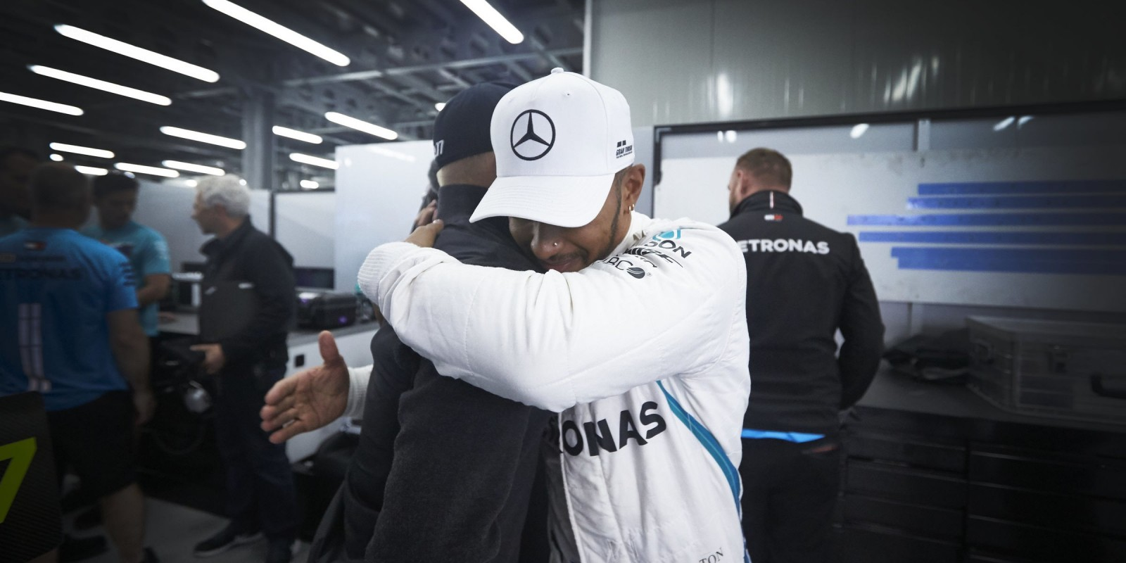 Sunday images from the 2018 Azerbaijan Grand Prix