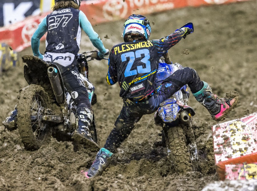 Aaron Plessinger at the 2018 Supercross stop in Seattle, WA