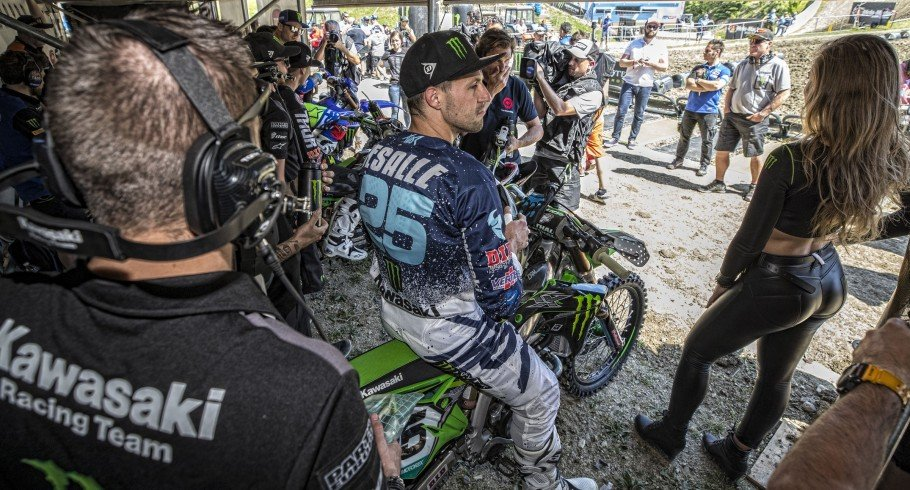 Clement Desalle at the 2018 Grand Prix of Russia