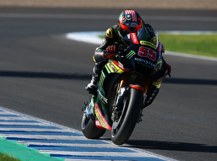 Valentino Rossi at the 2018 GP of Spain