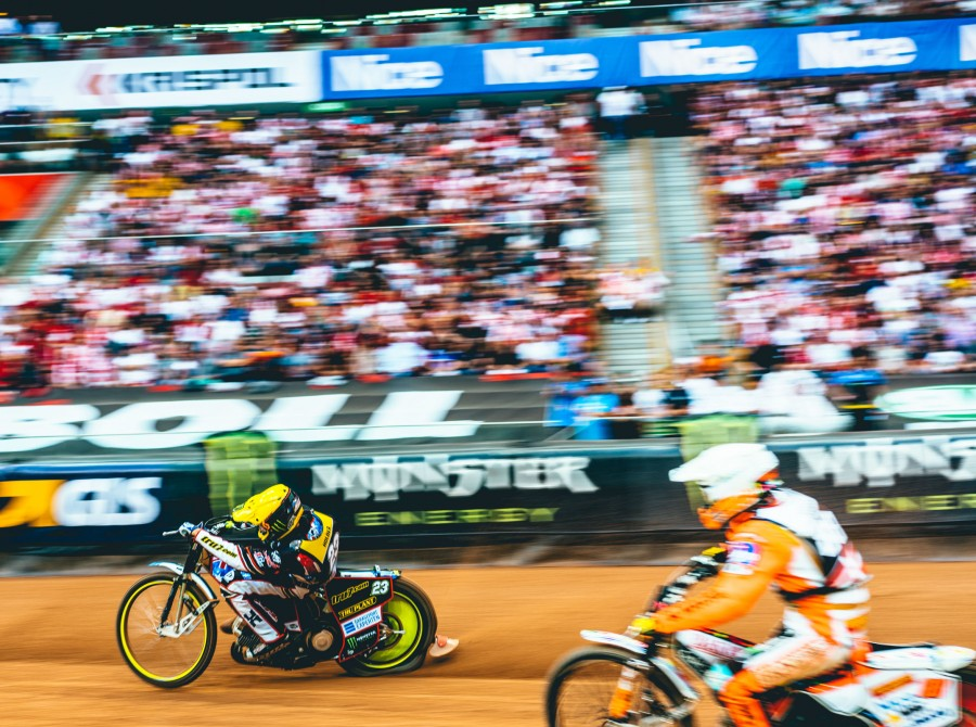 Images from the first round of the 2018 Speedway GP Series