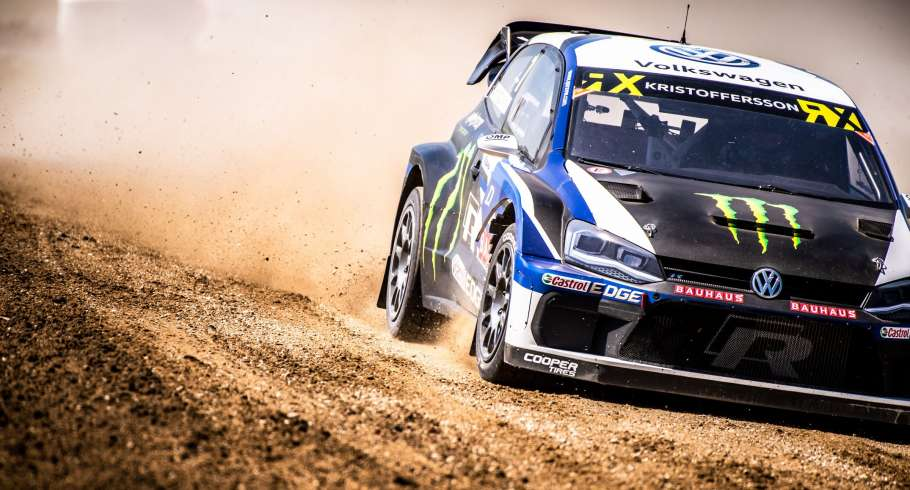 Saturday images from the World RX of Belgium