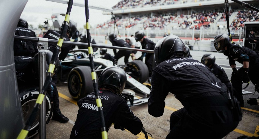 Sunday images from the 2018 F1 Spanish Grand Prix