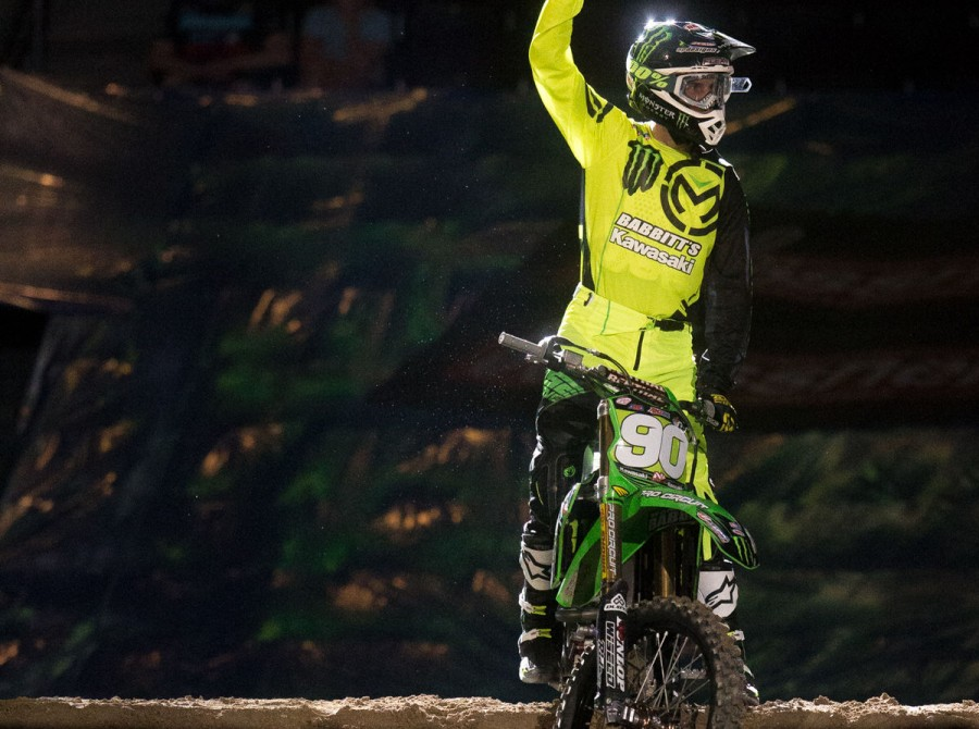 Images of Team Babbits at the final round of the AX Championship at Orleans Stadium, Las Vegas