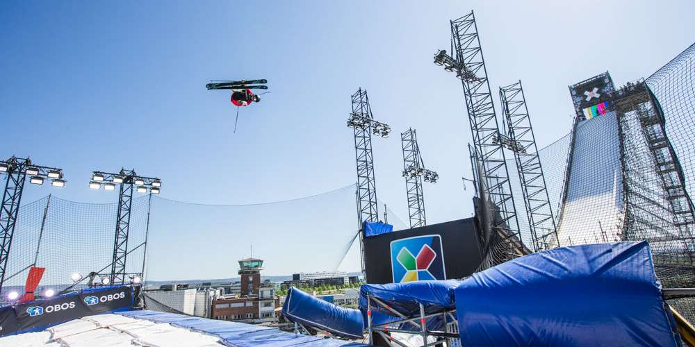 Henrik Harlaut Earns Silver in Men's Ski Big Air Finals at X Games Norway 2018