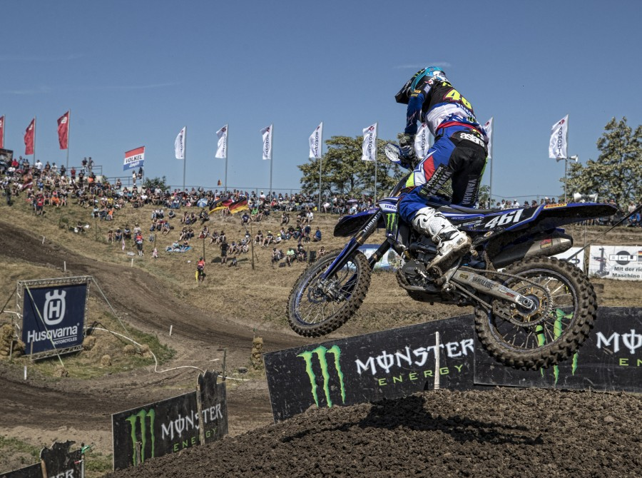 Romain Febvre at the 2018 Grand Prix of Germany