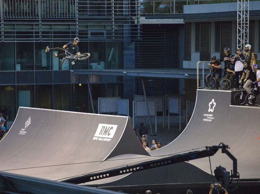 Action Shots from the 2018 BMX FISE World Series, FranceAction Shot