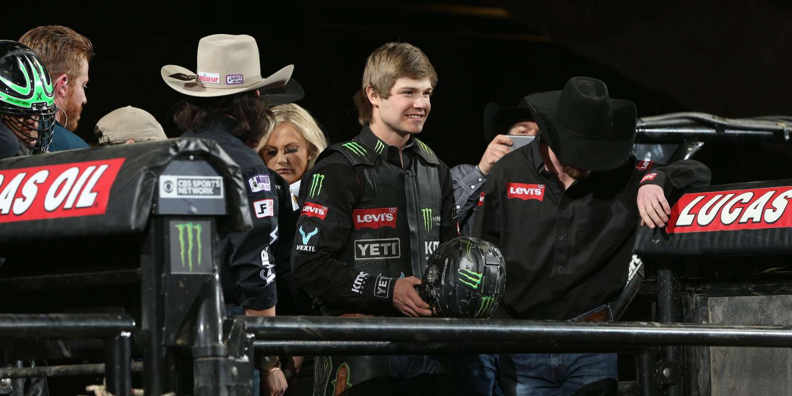 Derek Kolbaba during the first round of the Billings PBR 25th Anniversary Unleash the Beast