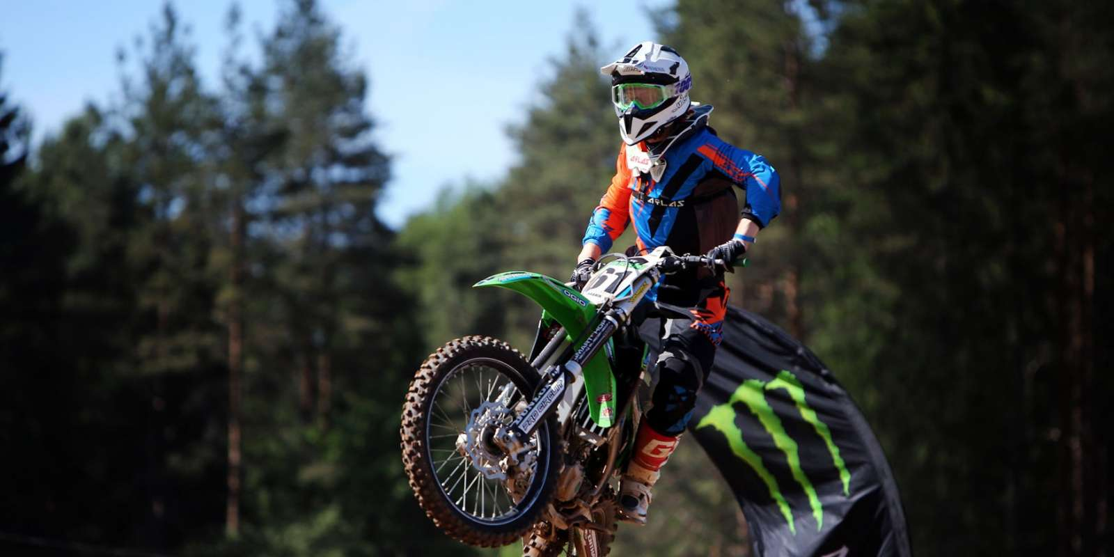 Images from 1st stage of Estonian Motocross Championship in Karksi