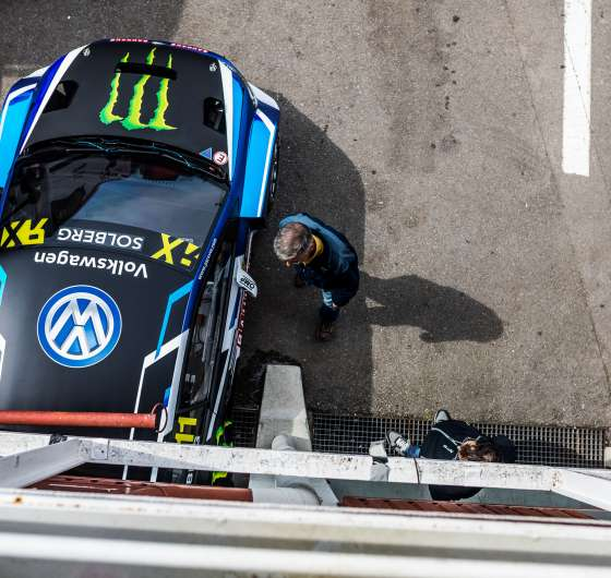 Friday images from the 2017 World RX of Spain