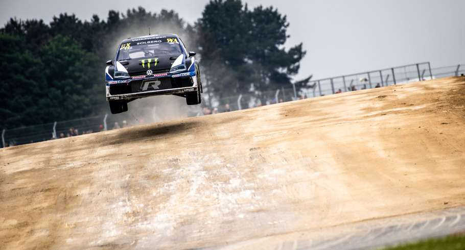 Saturday images from the 2018 World RX of UK