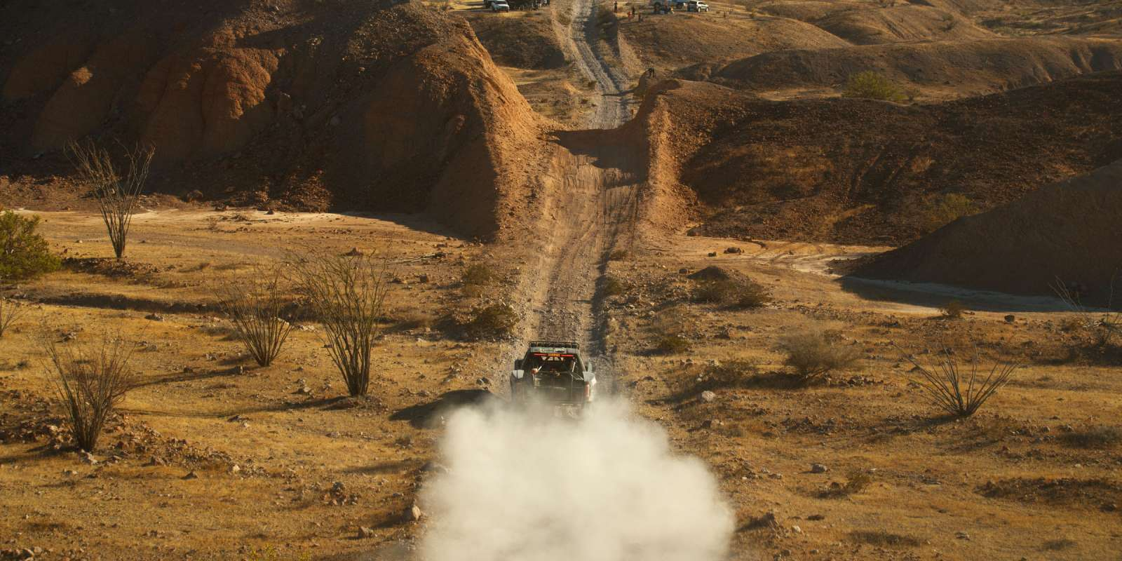 Monster athletes race at the 50th Annual Baja 1000 in Baja California
