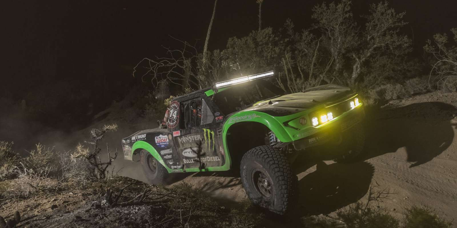 Images from the 50th Anniversary Baja 1000 race.