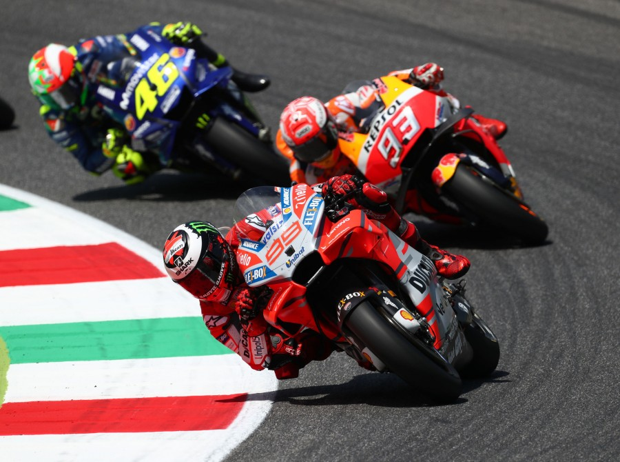 Jorge Lorenzo during Sunday Italian GP, Motogp