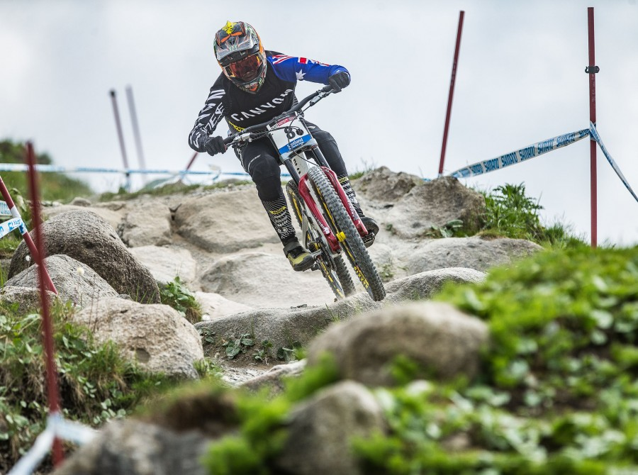 Shots from MTB UCI World Cup, Fort William UK