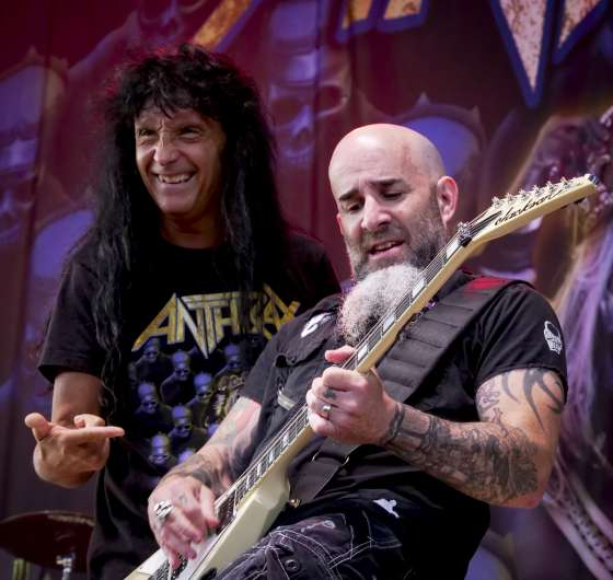 Live shots of Anthrax from Bud Stage in Toronto, Canada