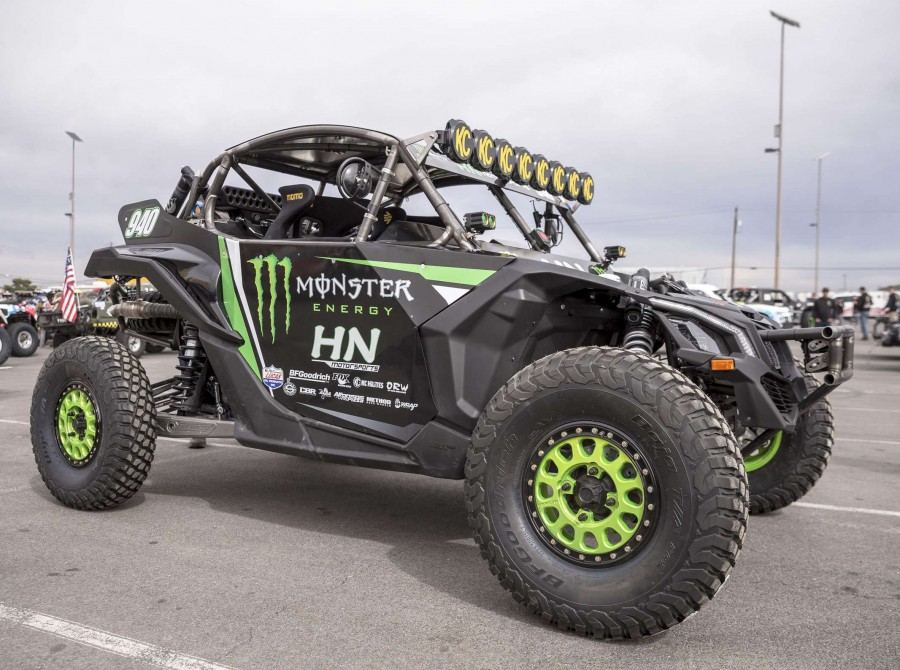 Behind the scenes imagery taken during the shooting of the MINT 400 athlete cross over project. Saturday race day images.
