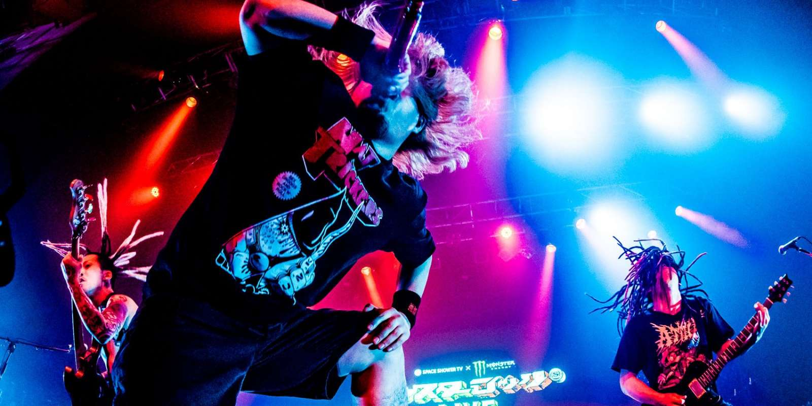 MAXIMUM THE HORMONE at Monster Rock Live 2018 in Tokyo