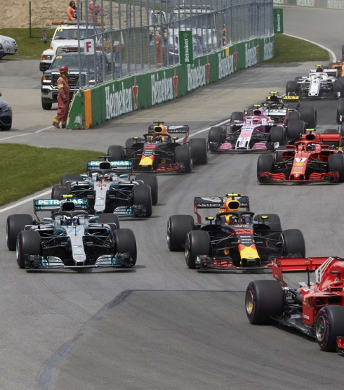 Sunday images from the 2018 Canadian Grand Prix