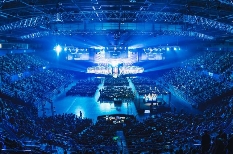 General ambient photos at ESL ONE Birmingham, in England