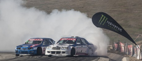 Image of non Monster Energy Athletes, Evil Santos and Traian Buse at the 2018 Romanian Drift Championship