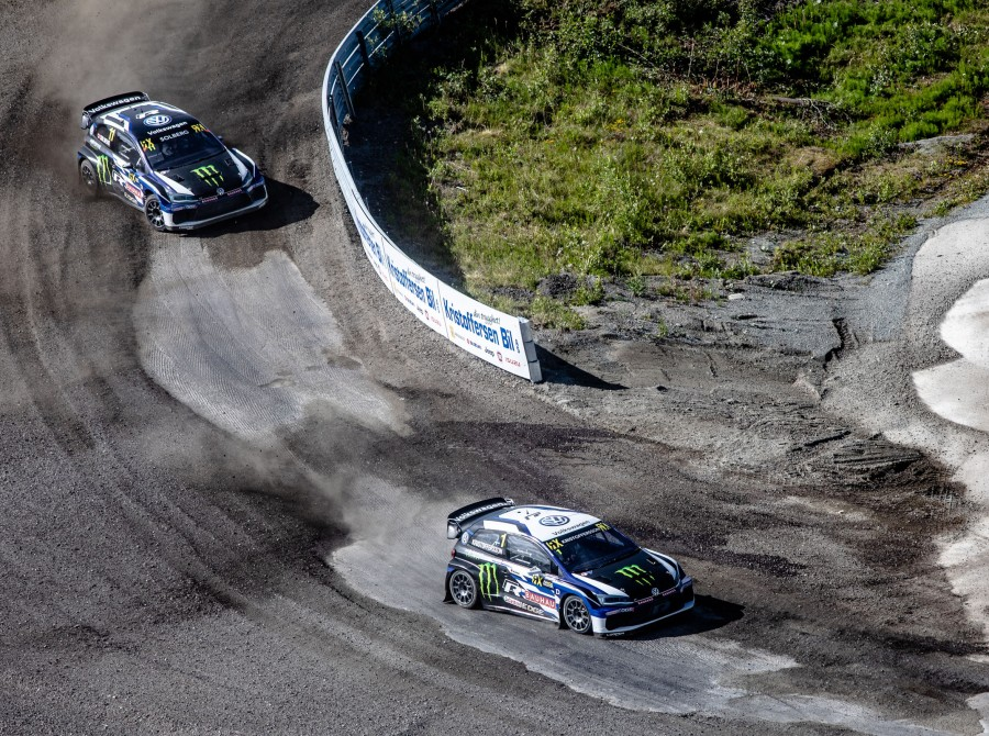 Sunday images from the 2018 World RX of Norway