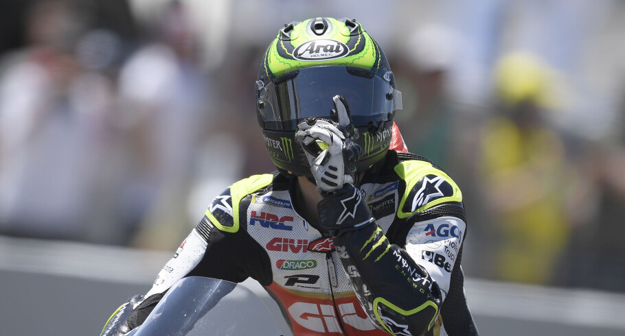 Cal Crutchlow at the 2018 GP of Spain