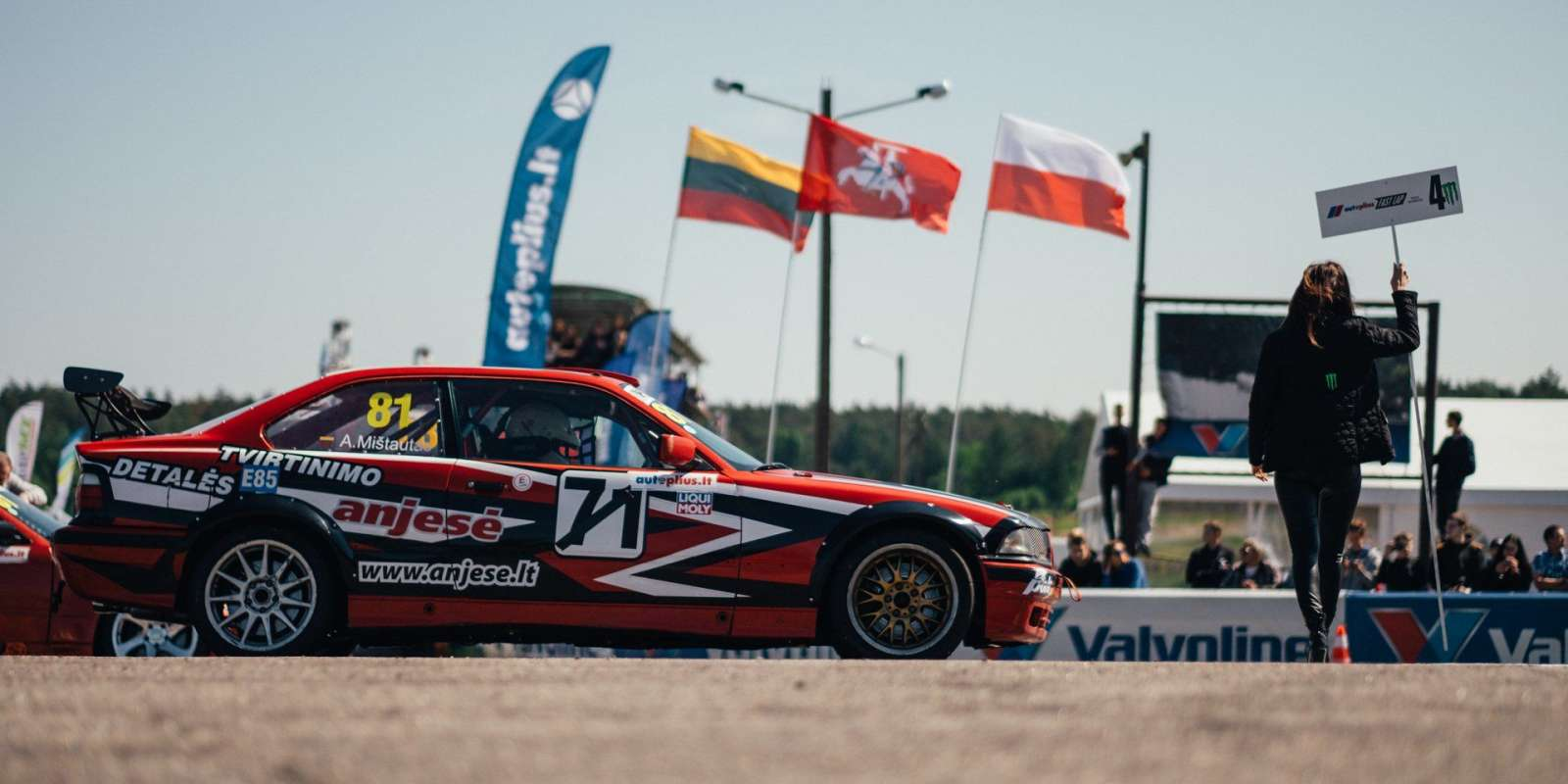 Images from Fast Lap Stage I in Nemunos Ziedas track in Kaunas, Lithuania