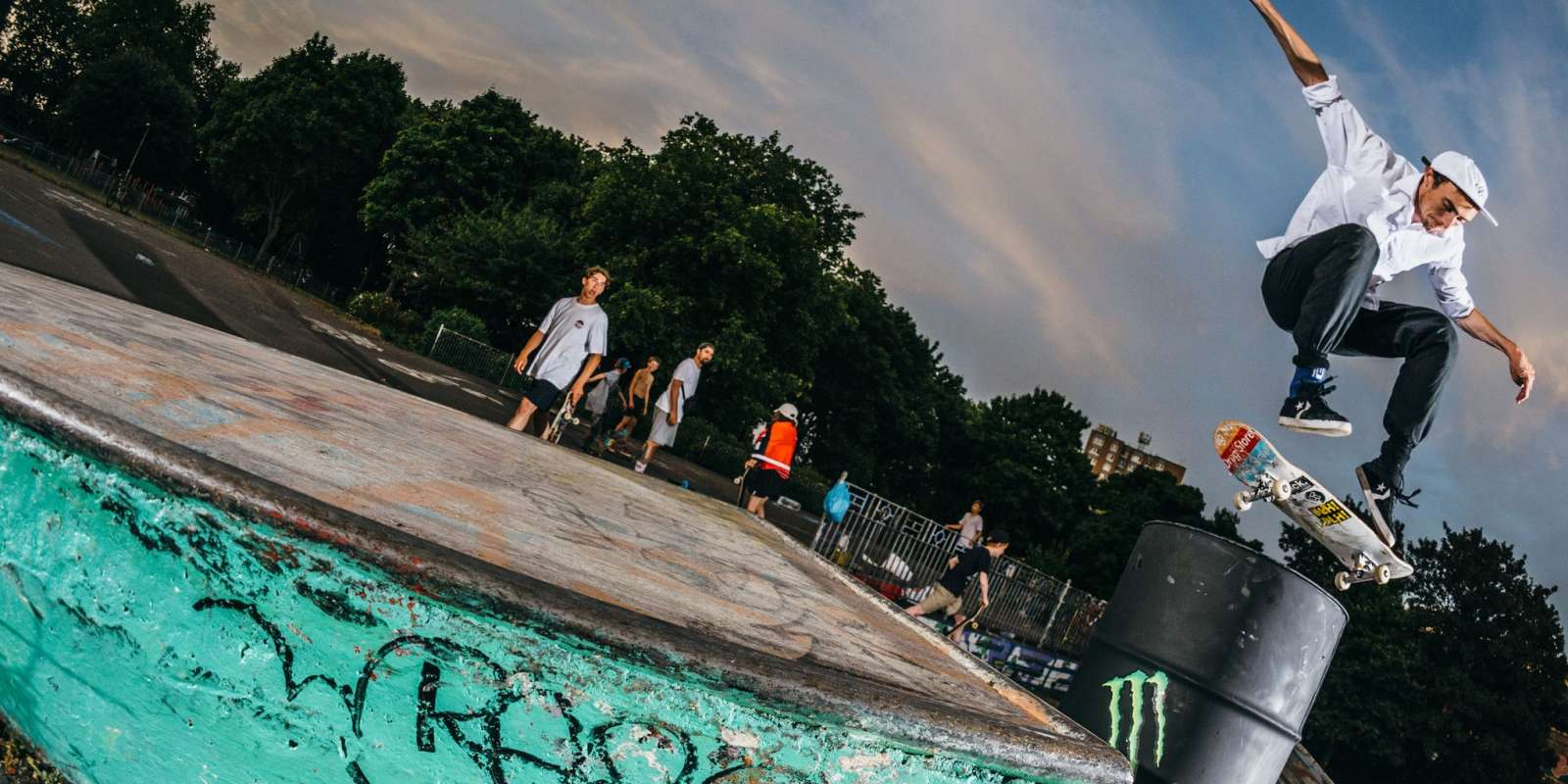 Photos of Go Skateboarding Day in Bristol shot by James Griffiths