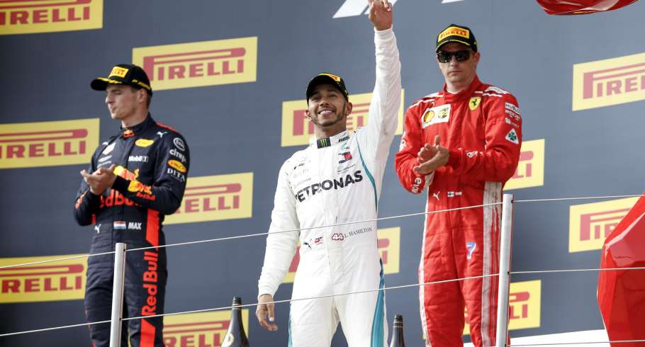 Sunday images from the 2018 French F1 Grand Prix