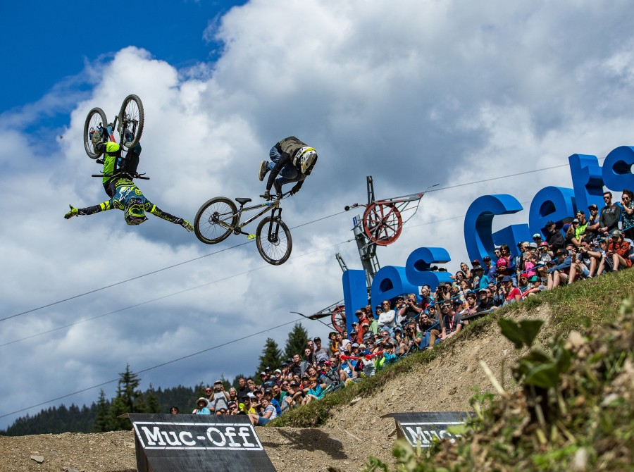 Image from the 2018 Downhill event at Les Gets