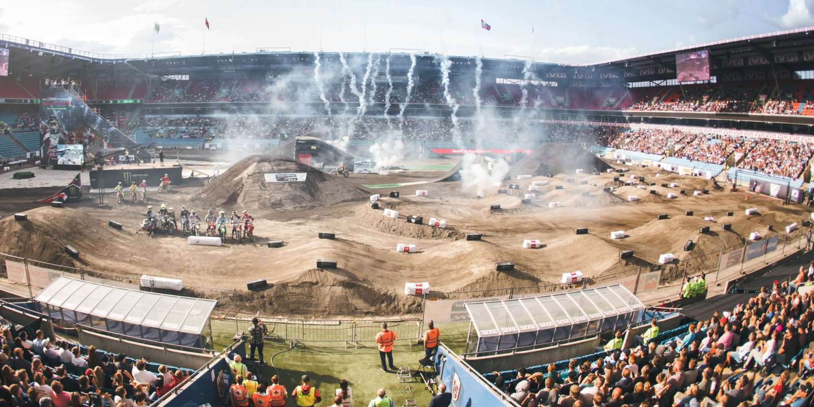 Ullevaal X, Ullevaal extreme, motorsport show by Andre Villa.