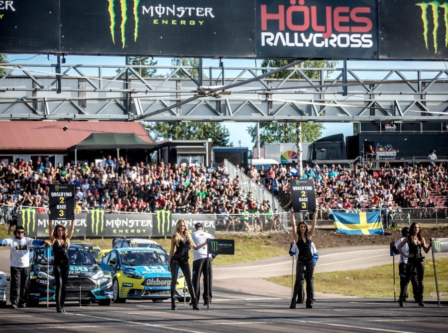 Saturday images from the 2017 World RX of Sweden