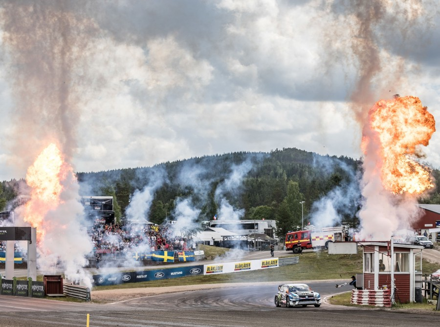 Sunday images from the 2017 World RX of Sweden