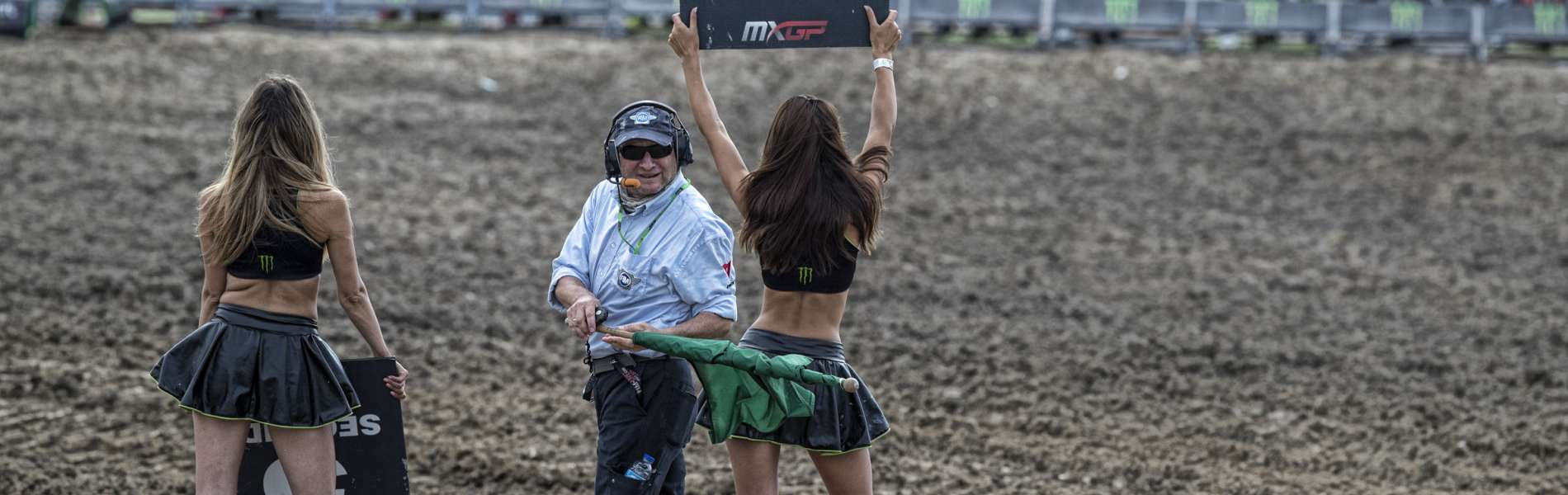 Monster Energy girls from the 2018 Grand Prix of Indonesia