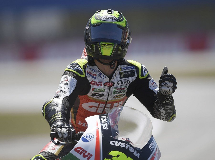 Cal Crutchlow at the 2018 GP of Netherlands