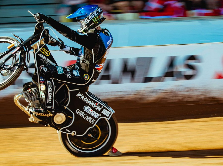 Images from round three of the 2018 Speedway Grand Prix series in Denmark