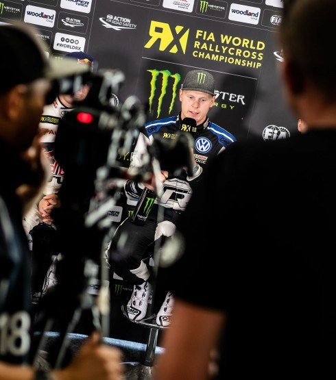 Saturday from the 2018 World RX of Sweden