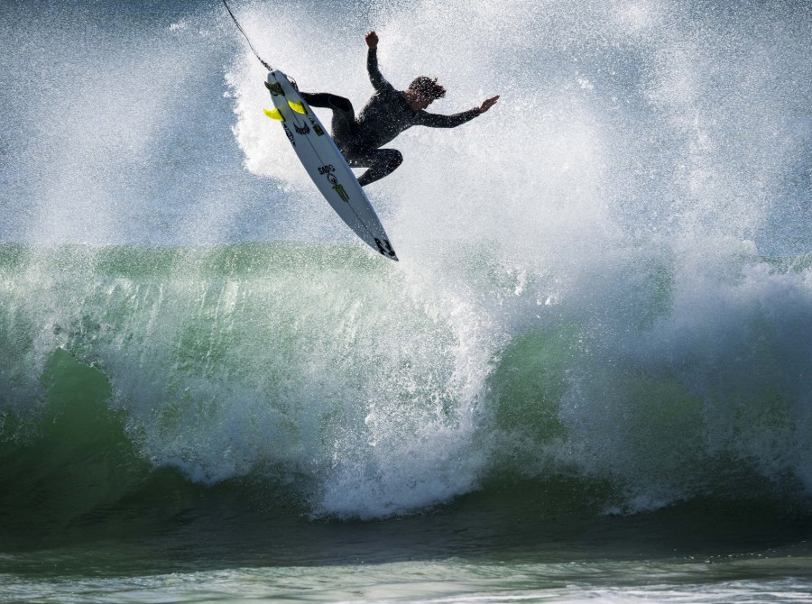 Griffin's never lost at J-Bay. Need we say more? (OK, he's never won, either. Rookie vibes. But we always see the can half-full)