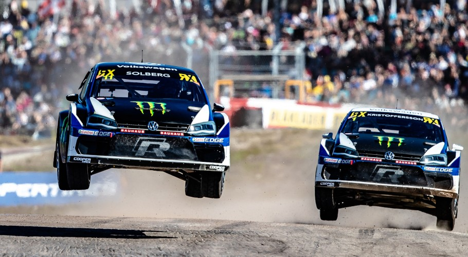 Sunday images from the 2018 World RX of Sweden