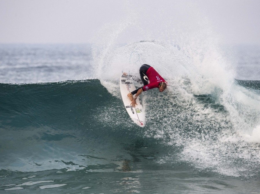 Action shots from the 2017 Quiksilver Pro, France