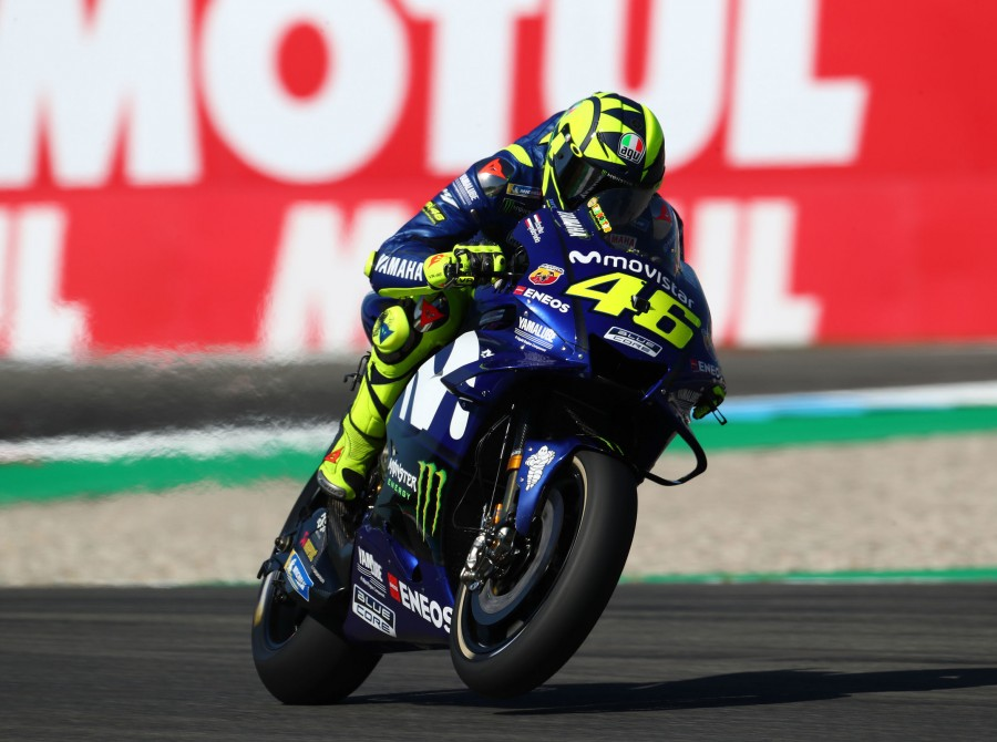 Valentino Rossi at the 2018 GP of Netherlands