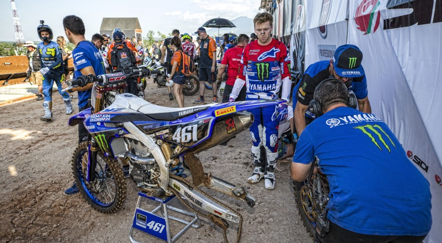 Romain Febvre at the 2018 Grand Prix of Asia