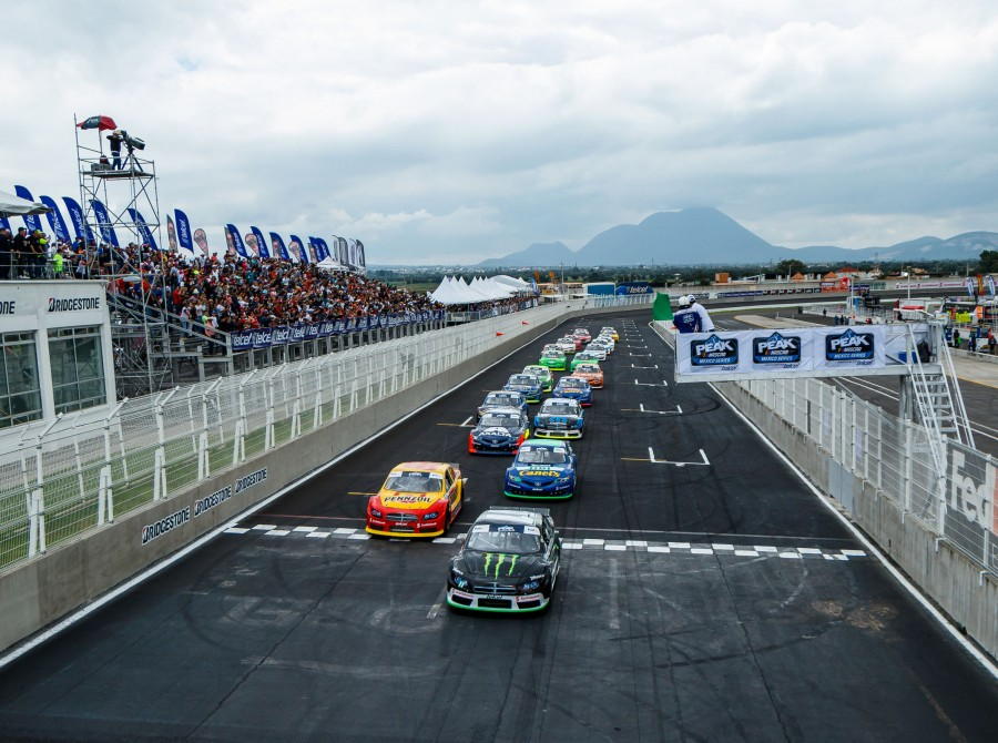 Image from the 2018 NASCAR Peak in Puebla, Mexico