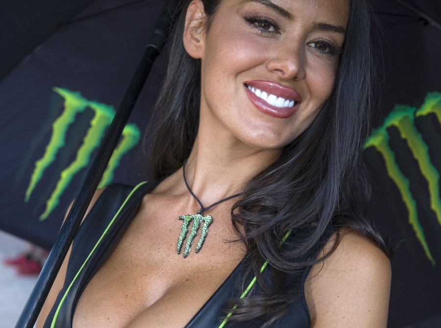 Monster Energy girls from the 2018 Grand Prix of Asia